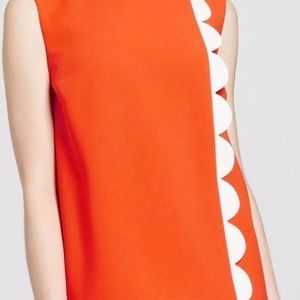 Victoria Beckham Target XS Orange Scalloped Set